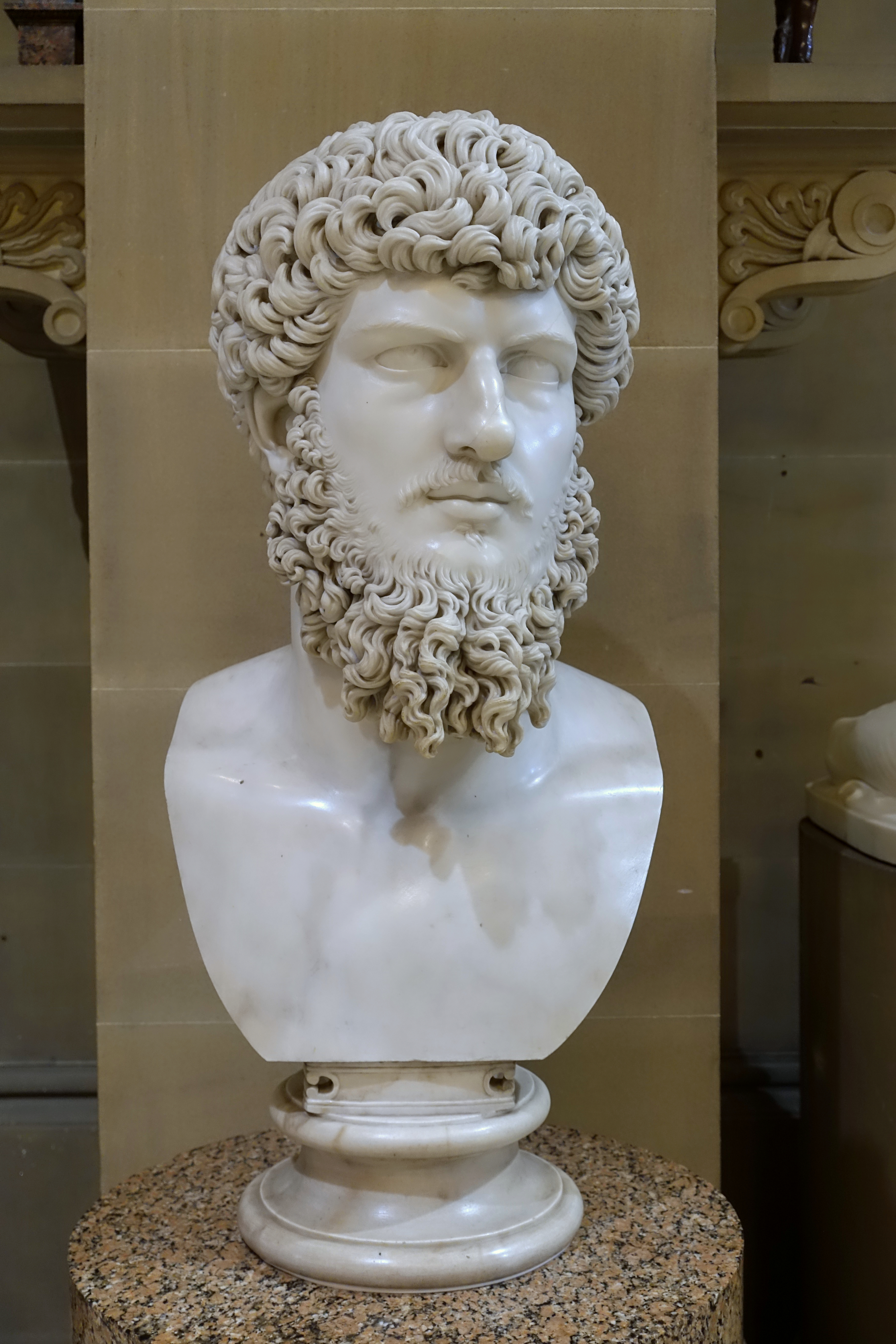 Chatsworth House Private Area: File:Lucius Verus, After The Antique, 19th Century Copy