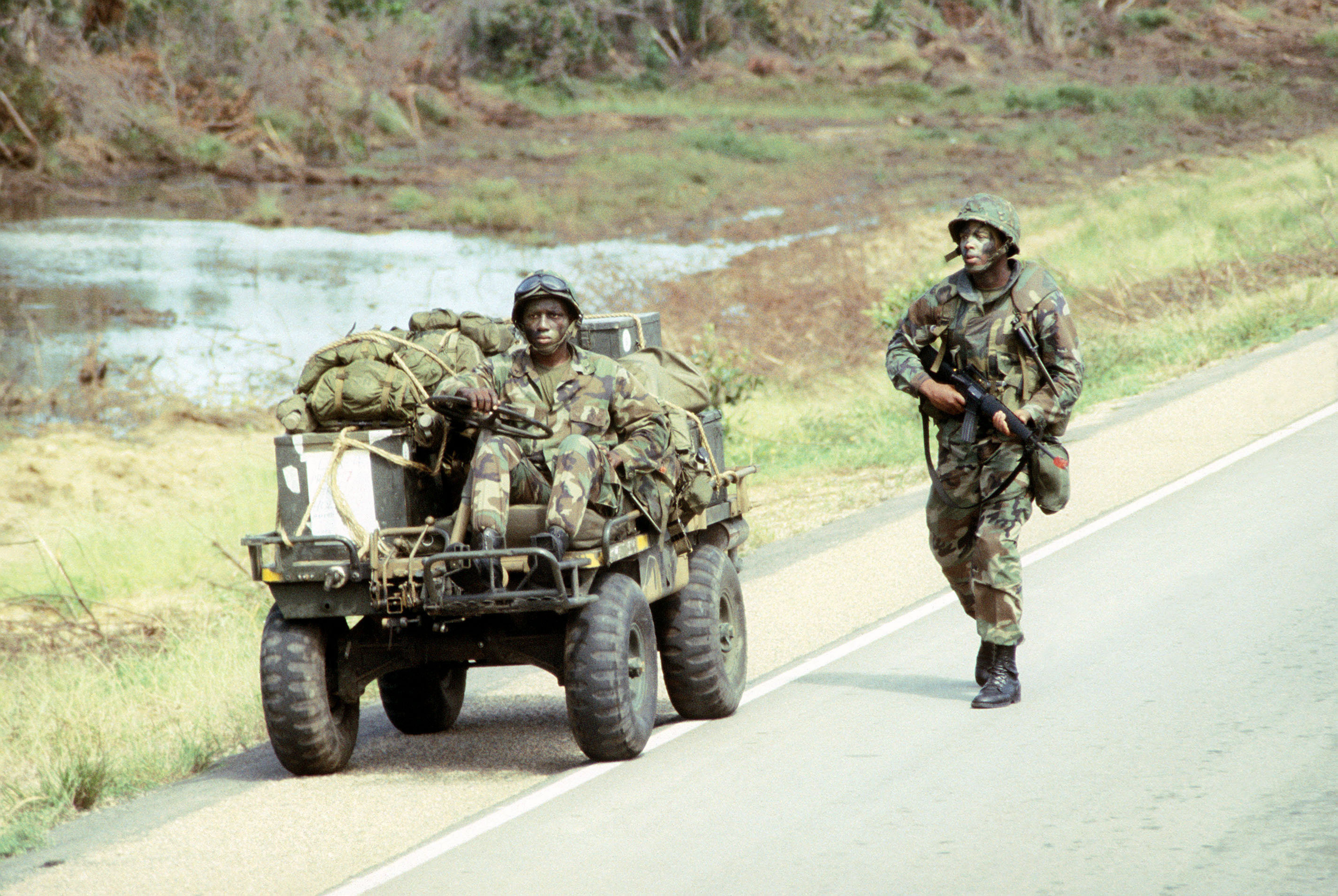 File M274 Mechanical Mule During Exercise 1984 Jpg