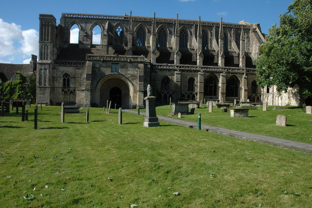 Malmesbury Abbey - geograph.org.uk - 860522