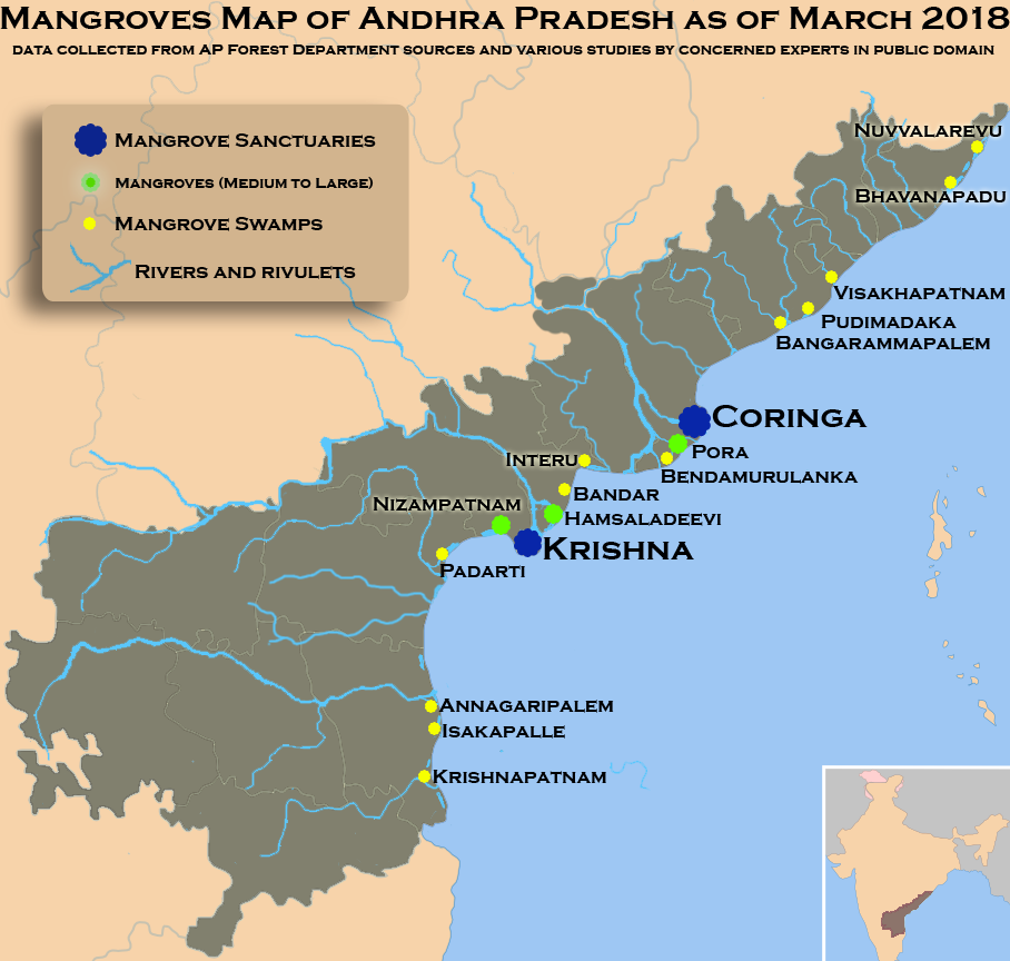 File:Mangroves map of Andhra Pradesh.png - Wikimedia Commons on