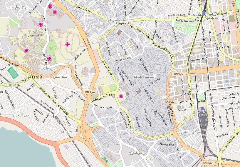 FileMap Medina of Tunispng Wikimedia Commons