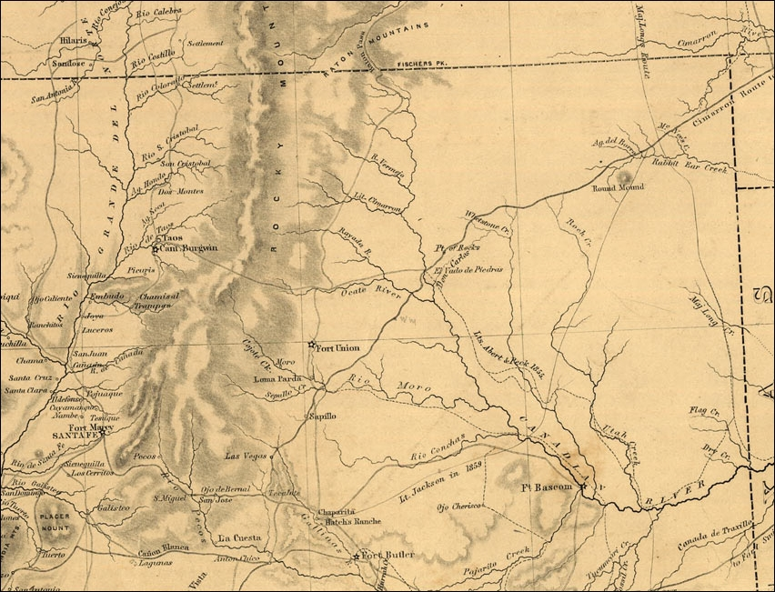 File:Map northern new mexico 1867.   Wikimedia Commons