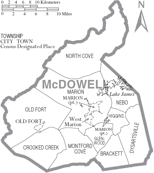 Old Fort Nc Map.Mcdowell County North Carolina Wikiwand