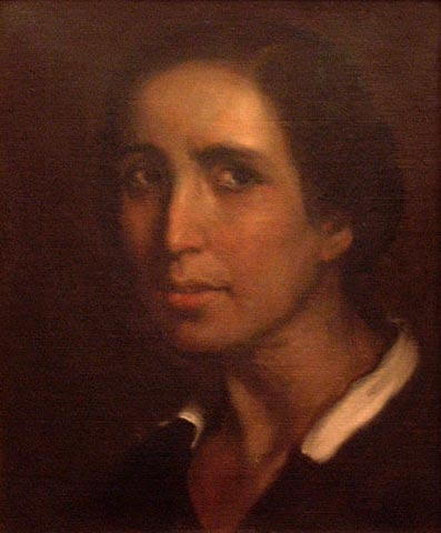 María de la O (1928), retrato de María de la O Lejárraga, realizado por Julio Romero de Torres. Museo Julio Romero de Torres.