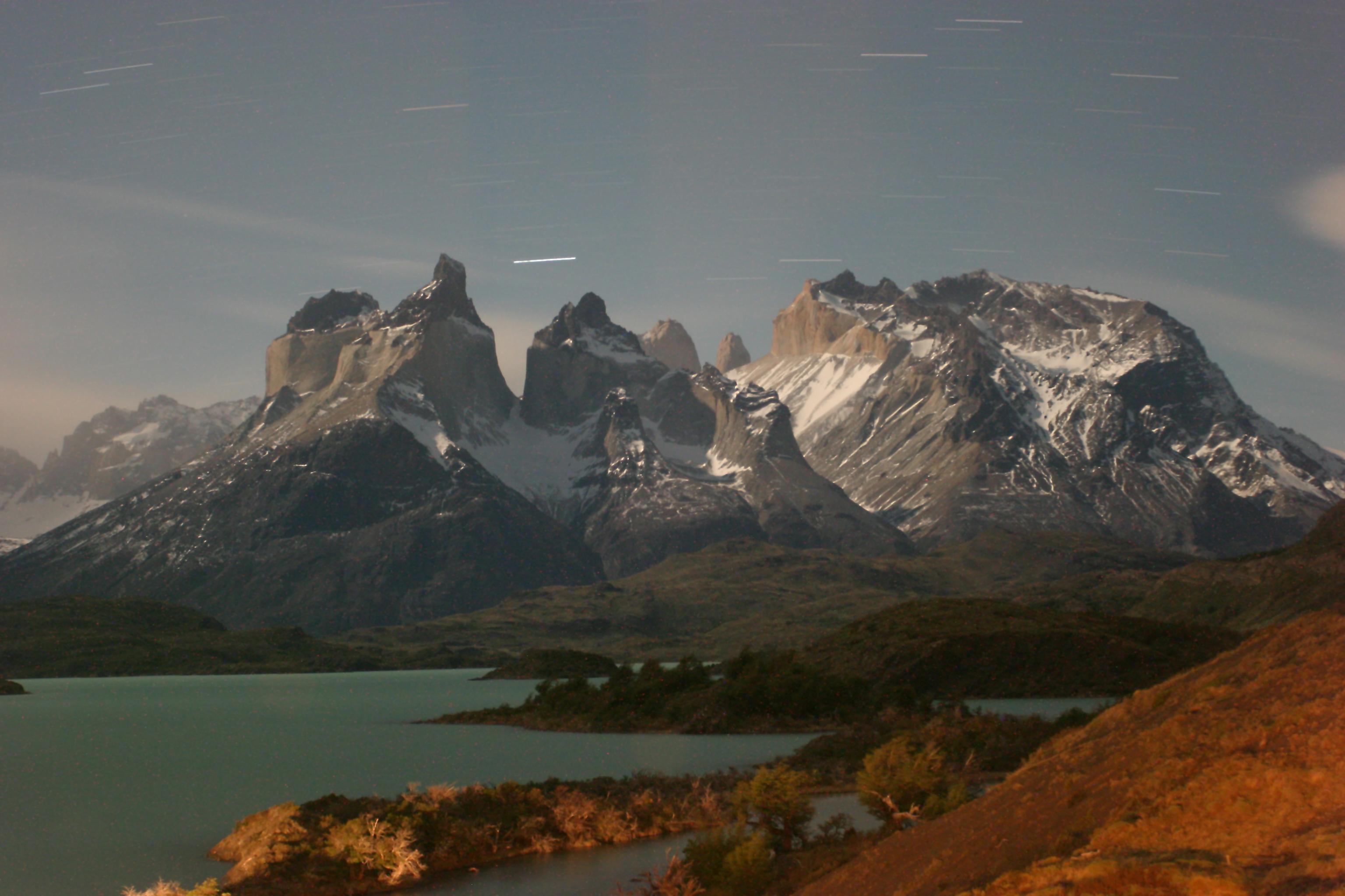 Massif at Night Маршрут самостоятельного путешествия по Чили
