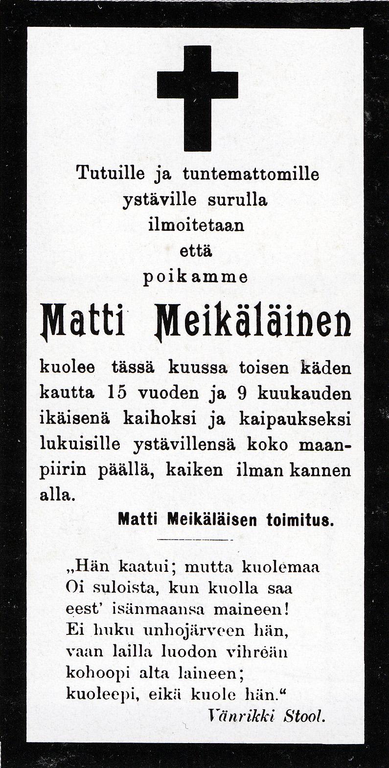 File matti meik l inen 39 s death wikimedia commons for Death summary template