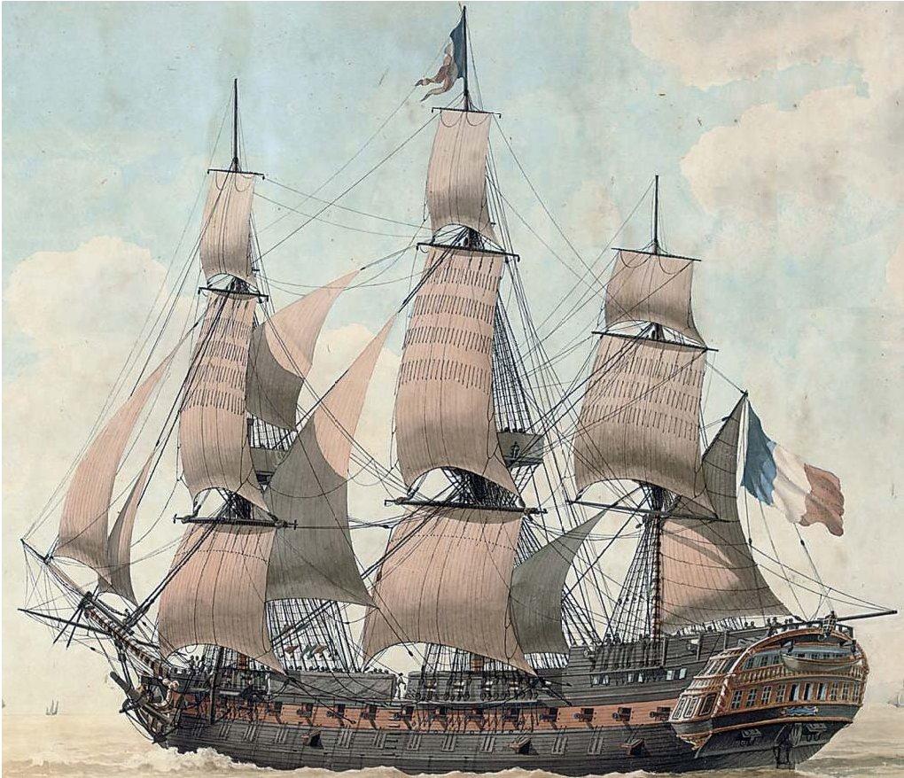 French ship Mont Blanc (1791) Wikipedia