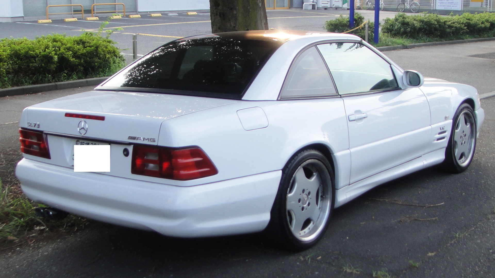 File Mercedes Benz Sl73 Amg Rear Tx Re Jpg Wikimedia Commons