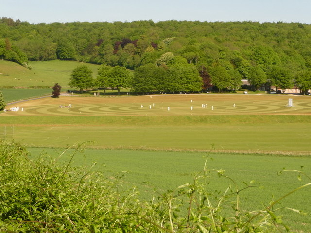 Milton Abbas, cricket at Milton Abbey School - geograph.org.uk - 1878217