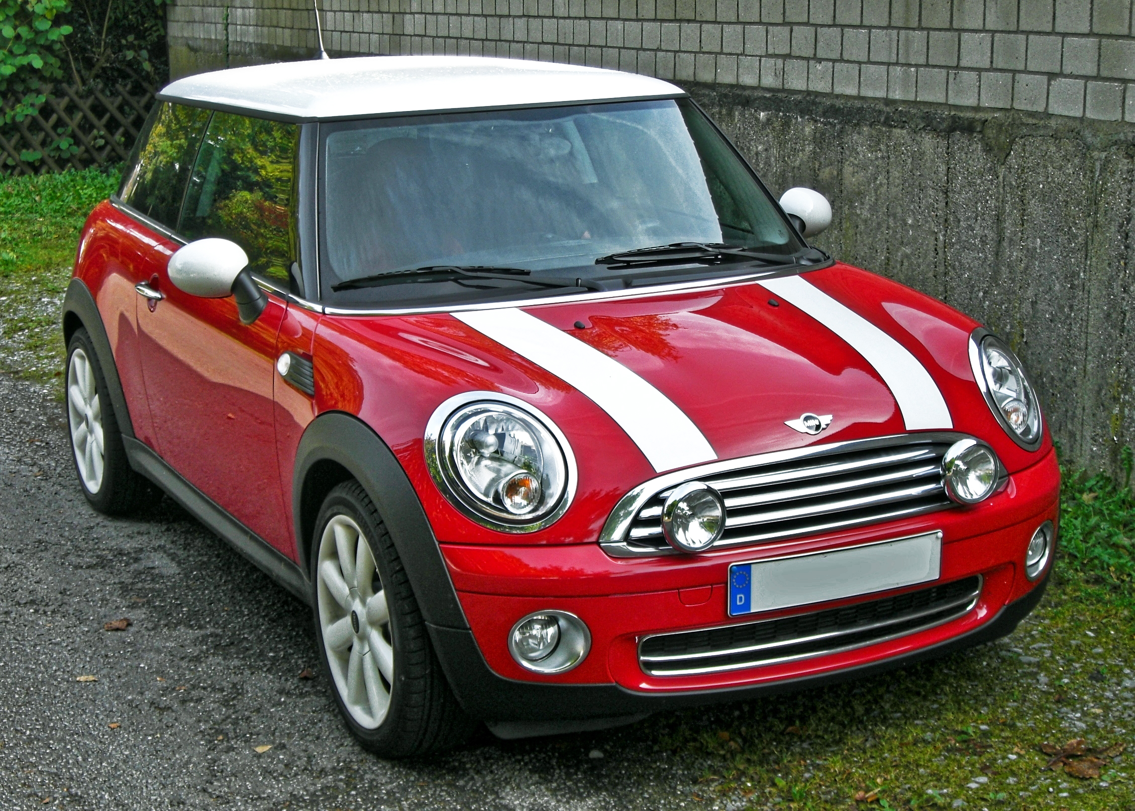 datei mini cooper facelift front jpg wikipedia. Black Bedroom Furniture Sets. Home Design Ideas