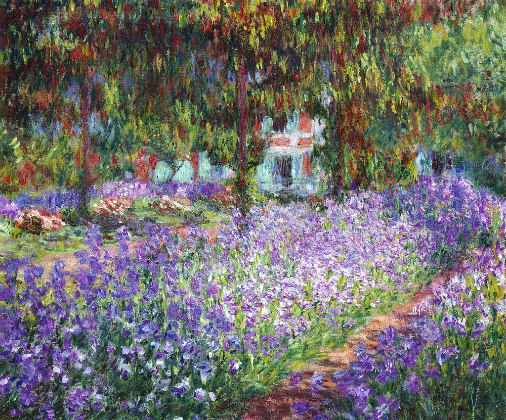 File monet le jardin de l 39 wikimedia commons for Le jardin de lea