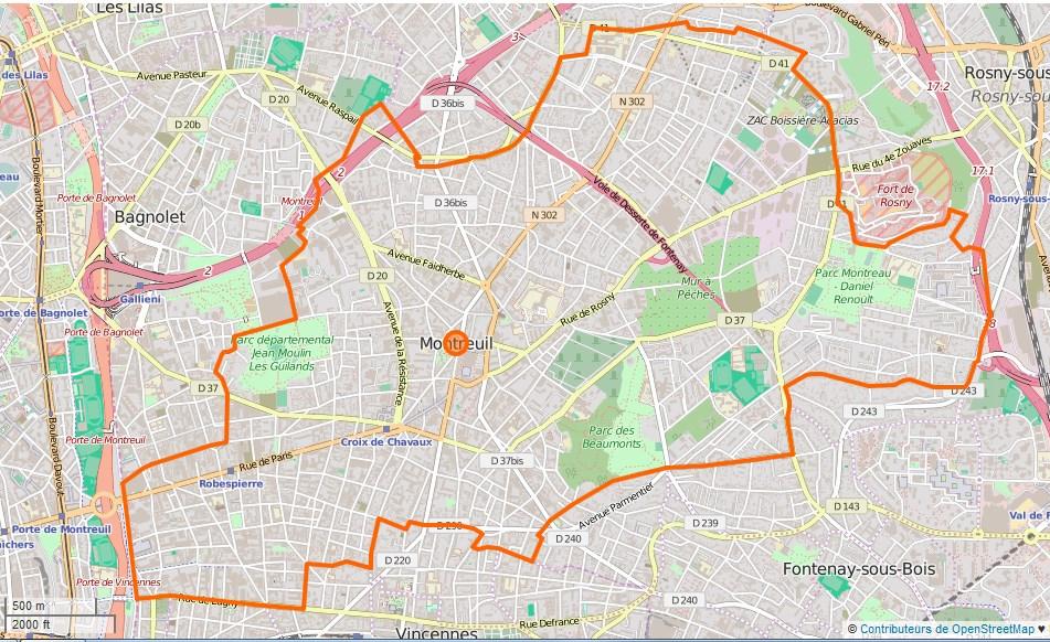 LE GRAND ÉBAT - L'OUTRE-RÉEL IV.1 - texte intégral Montreuil_%28Seine-Saint-Denis%29_Limite_communale