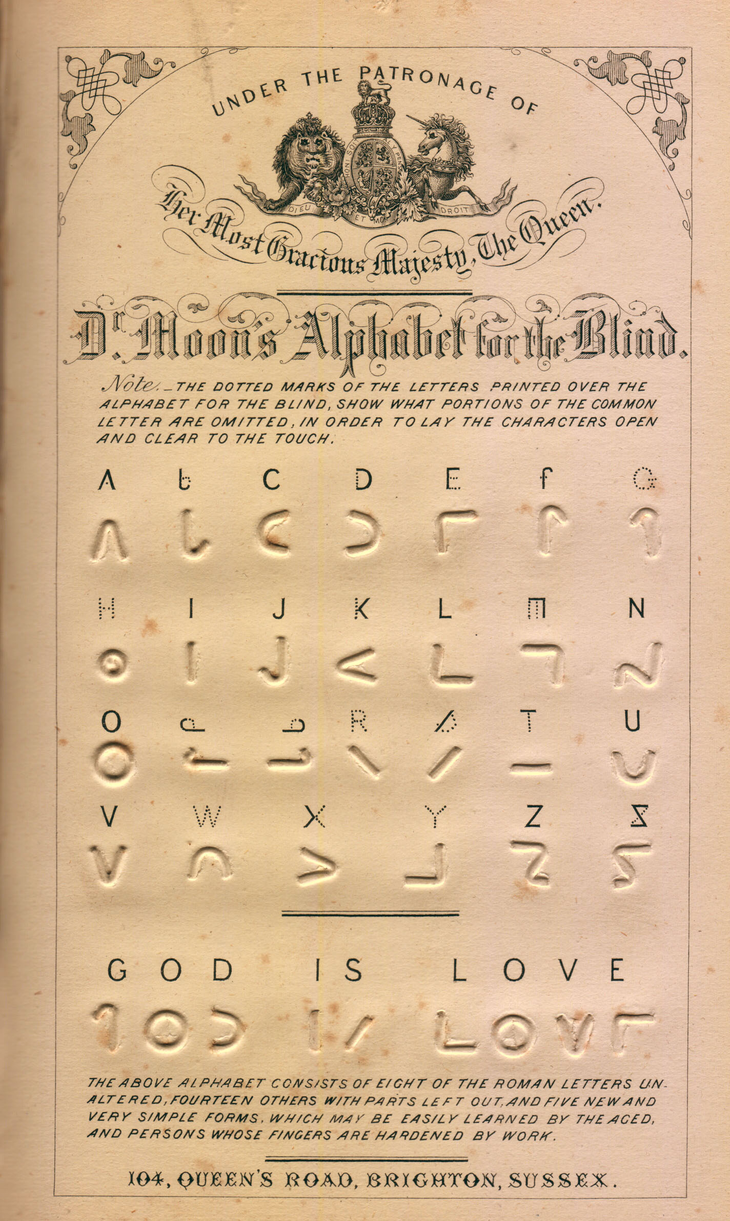 Latin Alphabet Chart: Moon type - Wikipedia,Chart