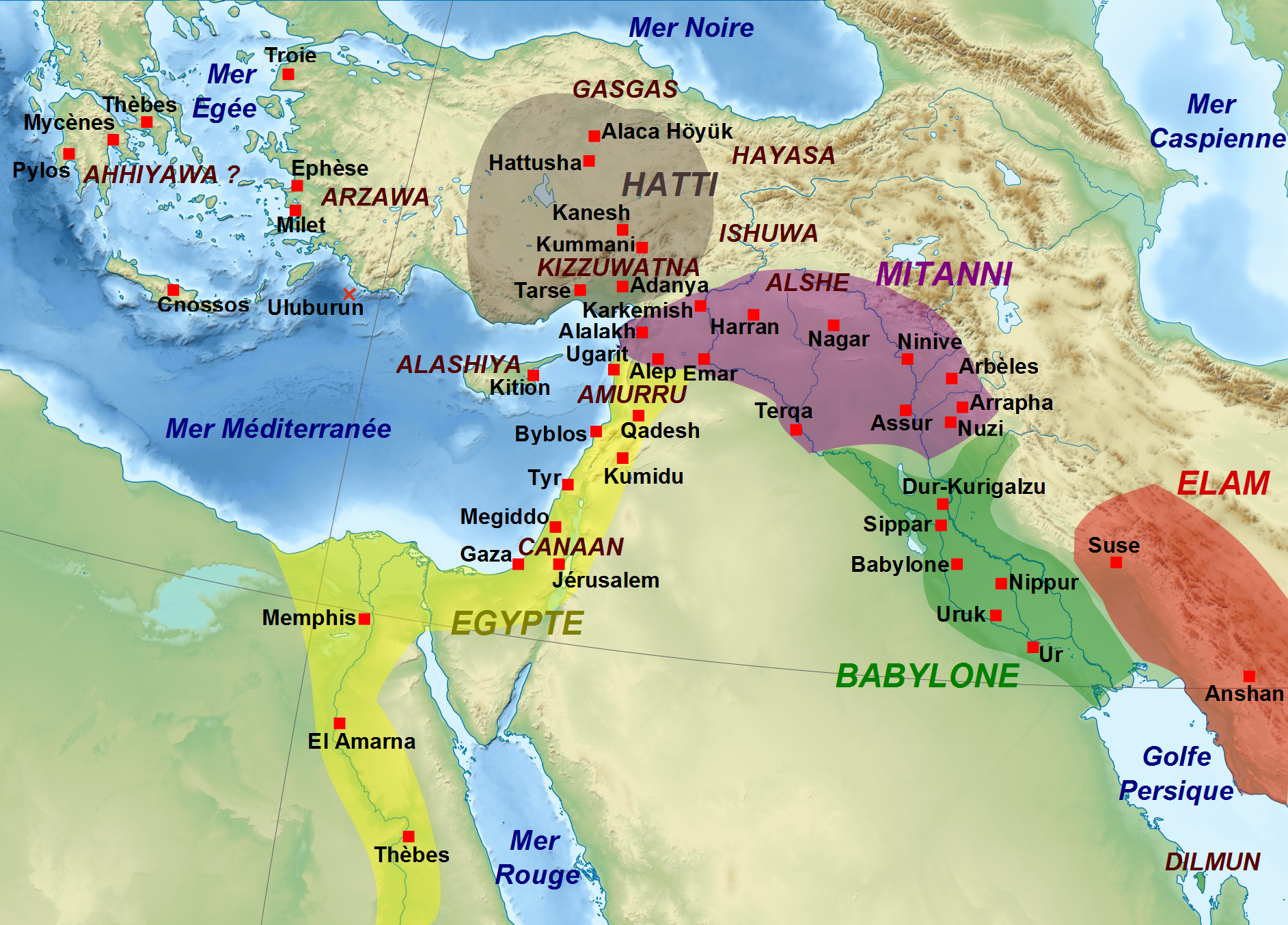 Middle East Kingdoms