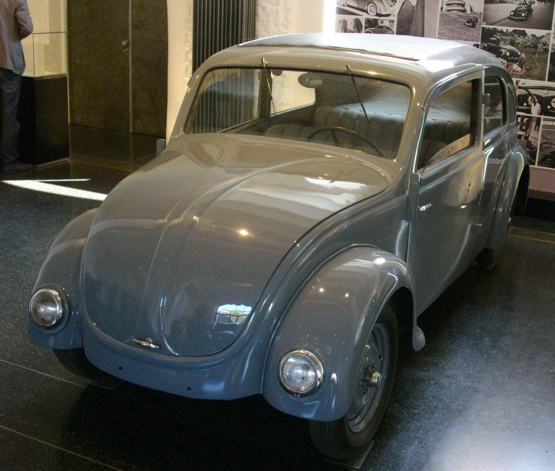 VW-Käfer-Prototyp von Ferdinand Porsche, 1934 bei NSU gebaut