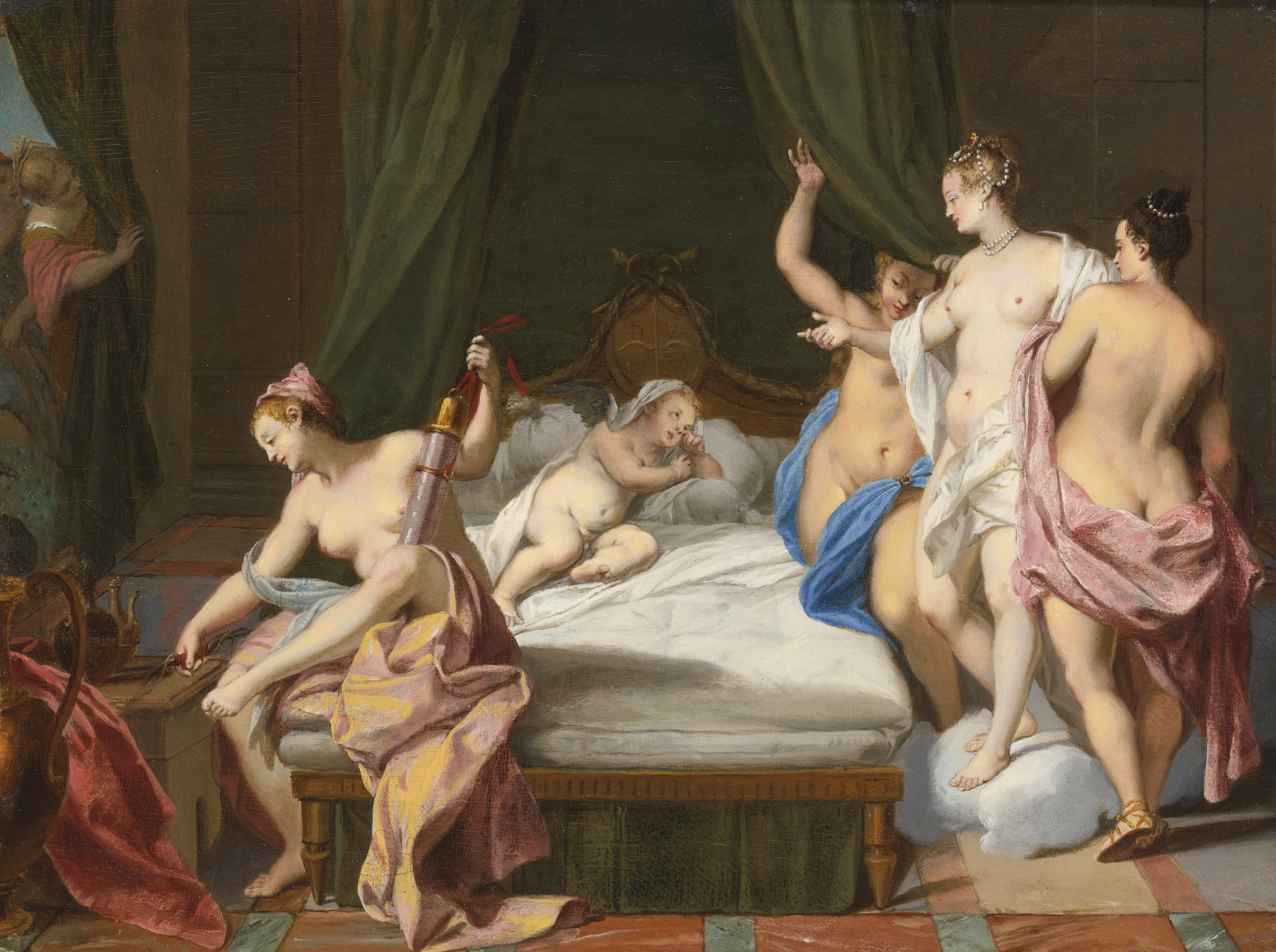 Venus and Three Graces Paintings