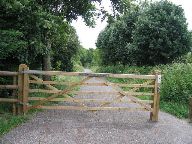North Dorset Trailway, Sturminster Newton - geograph.org.uk - 942370