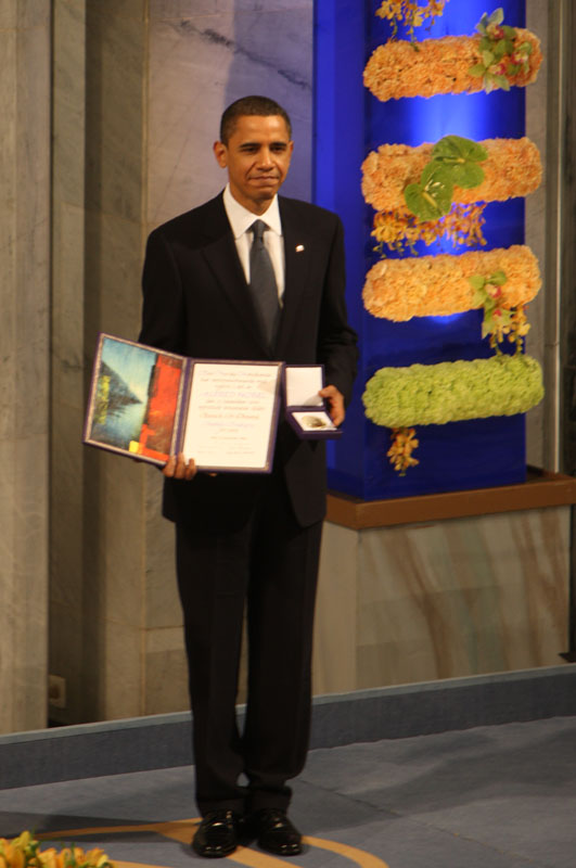 Why Did President Obama Win the Nobel Peace Prize?