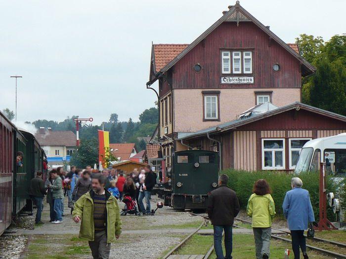 Estacion de real de Guglingen - Kit Faller 282707 Ochsenhausen-Bahnhof