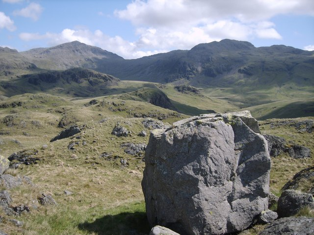 On Silverybield Crag - geograph.org.uk - 1322854