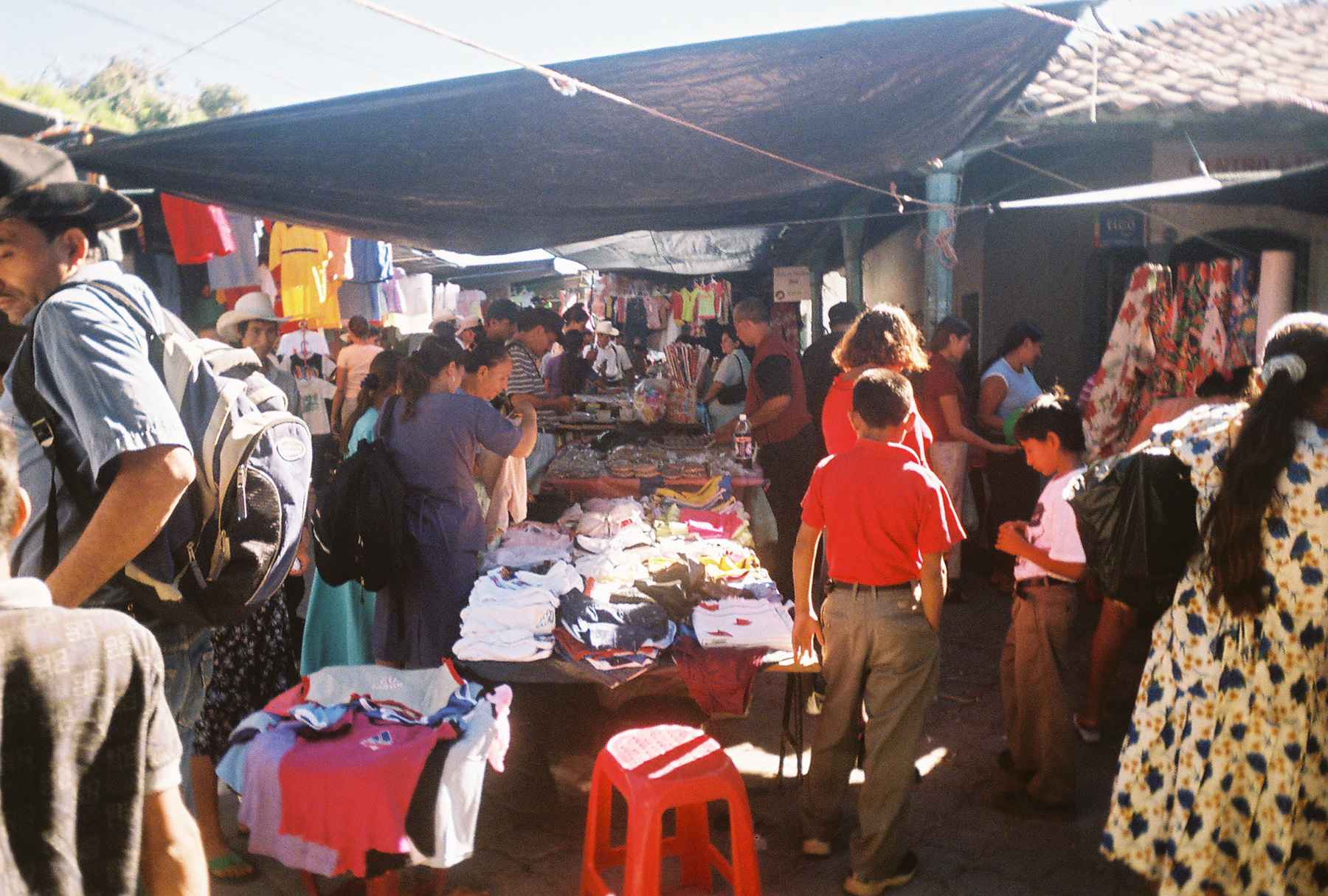 A Market in El Salvador