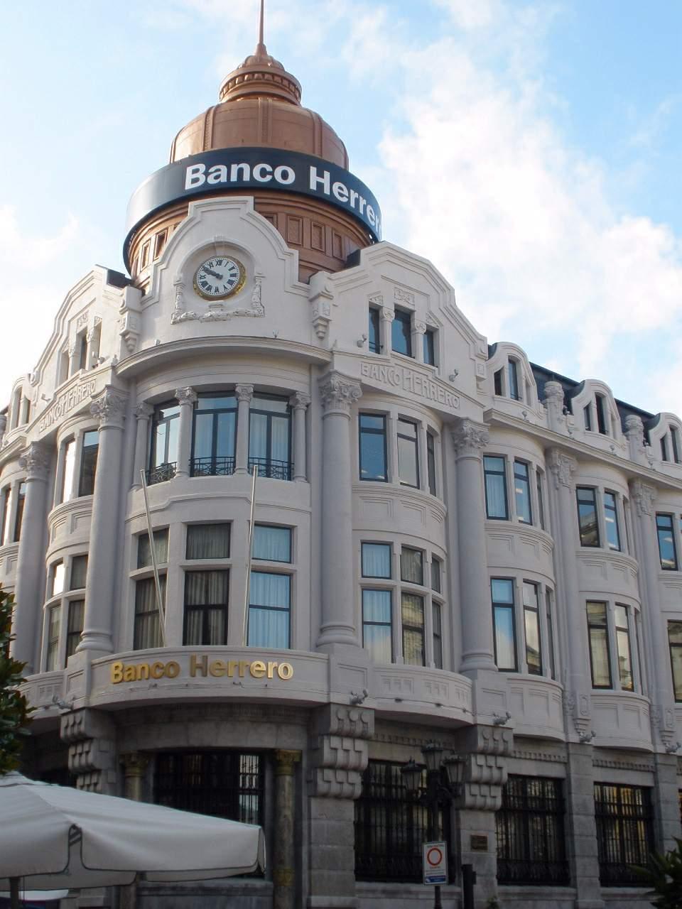 Banco herrero wikipedia la enciclopedia libre for Oficinas banco sabadell oviedo
