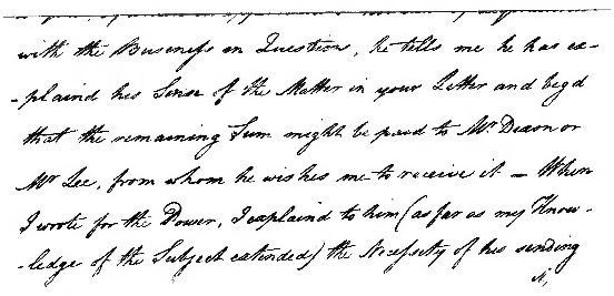 Page 77 letter (The Life of Matthew Flinders).jpg