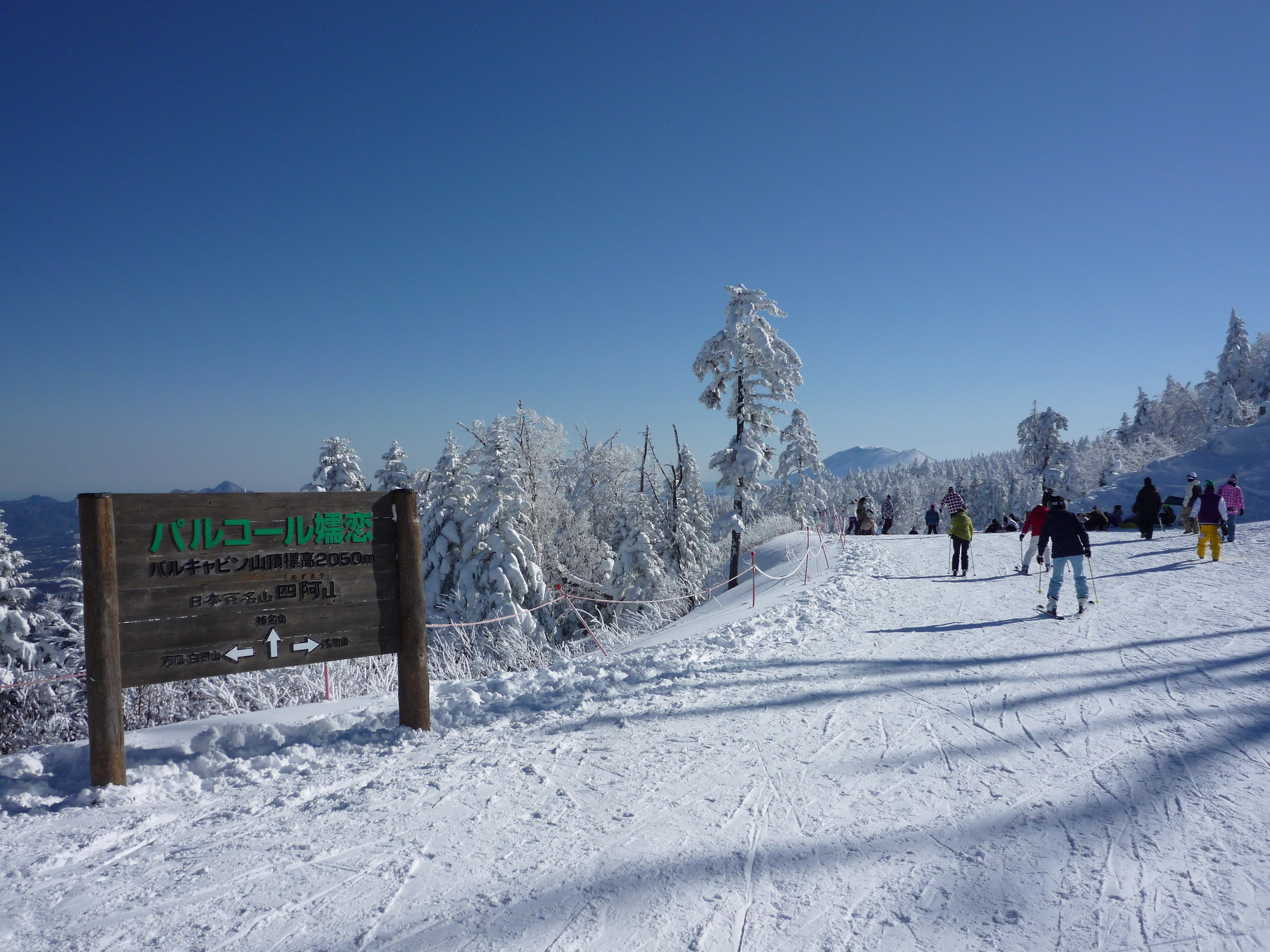 ファイル palcall tsumagoi ski resort jpg wikipedia