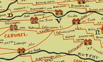 carte de la gaule romaine Se déplacer en Gaule romaine   les gallo romains