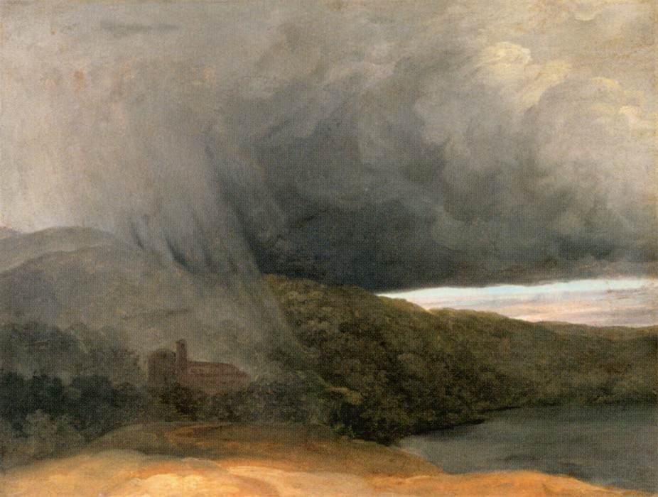 L'Orage au bord d'un lac