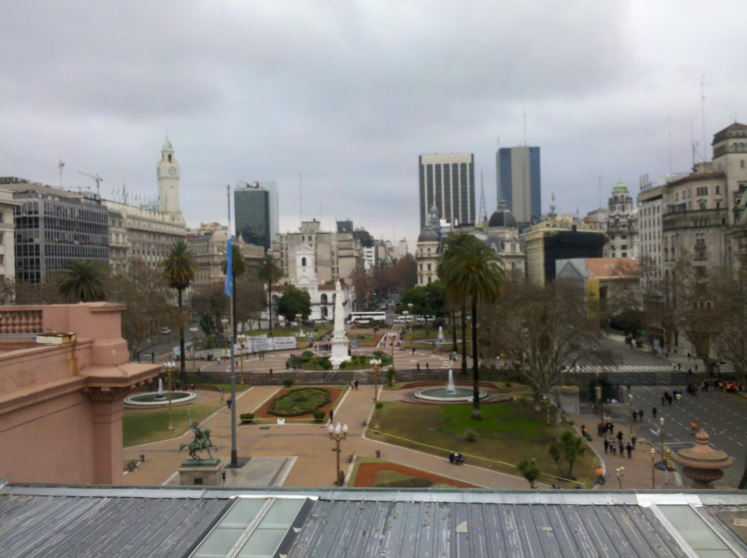 File Plaza De Mayo Desde Terraza De Casa Rosada Ii Jpg