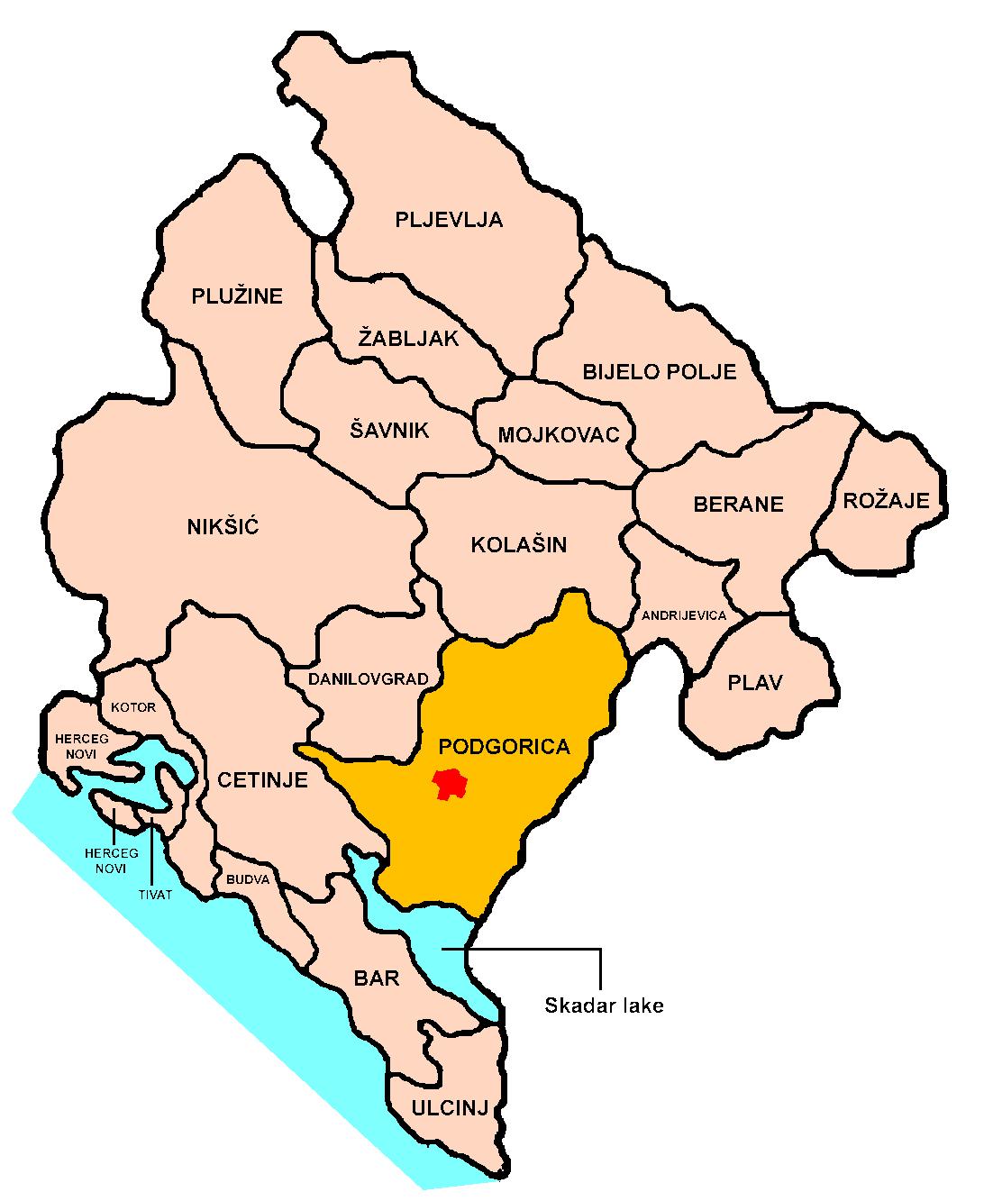 Visiter Podgorica, capitale du Montenegro ; une ville sans grand intérêt 5
