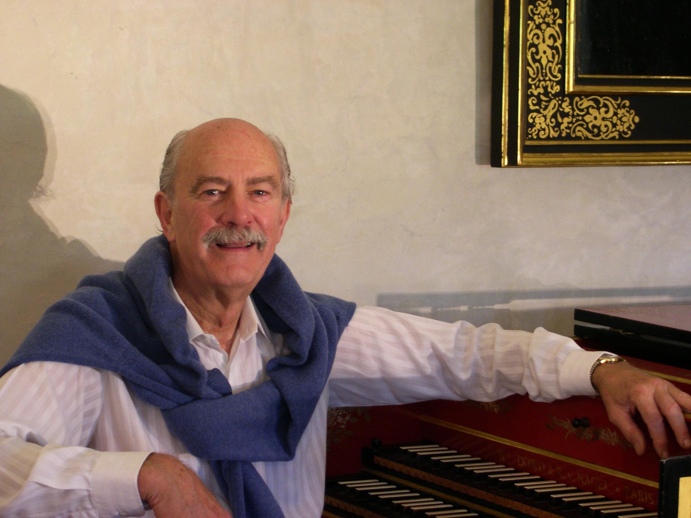 Alan Curtis at home, Florence 2006