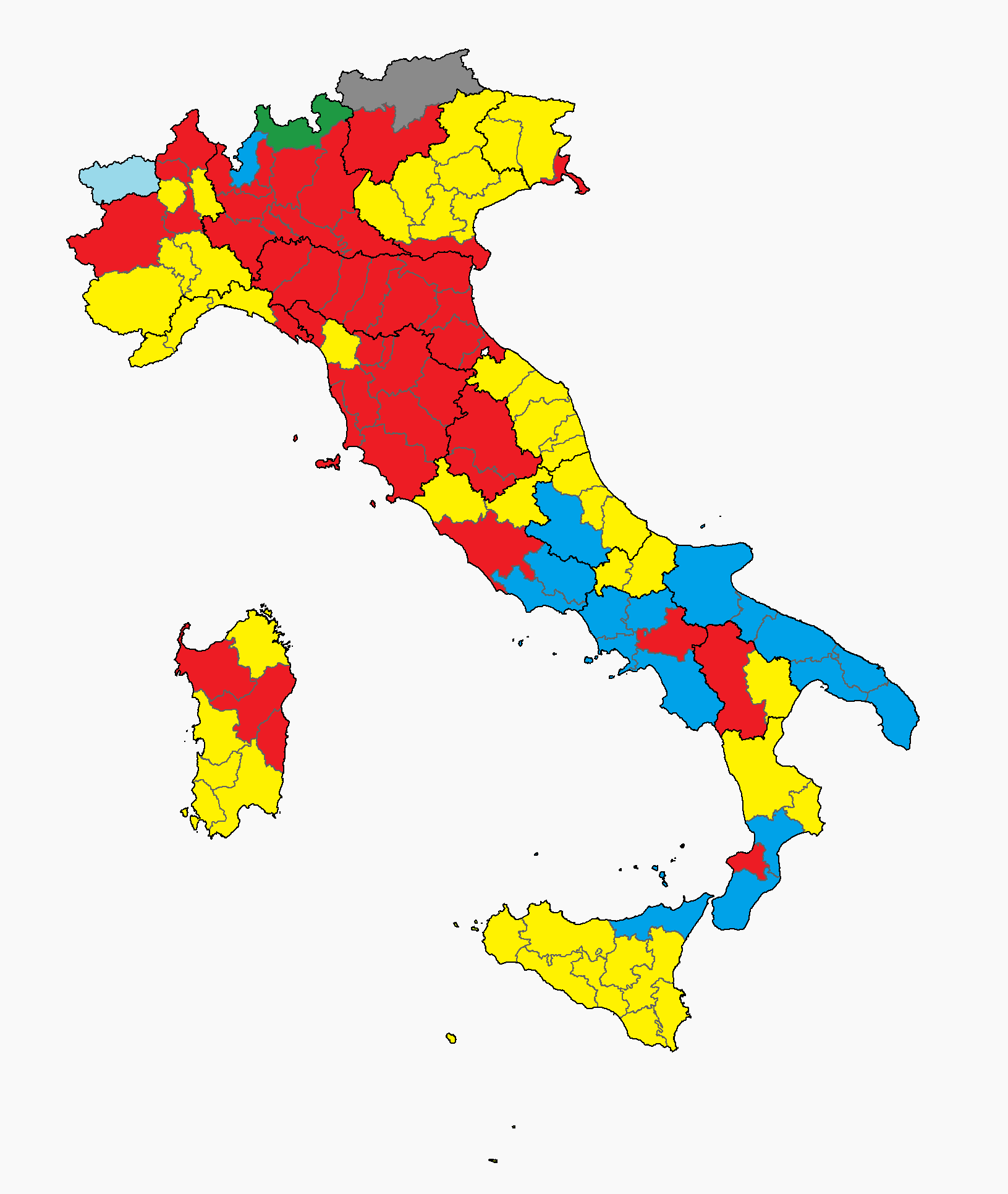 file province of italy election 2013 png