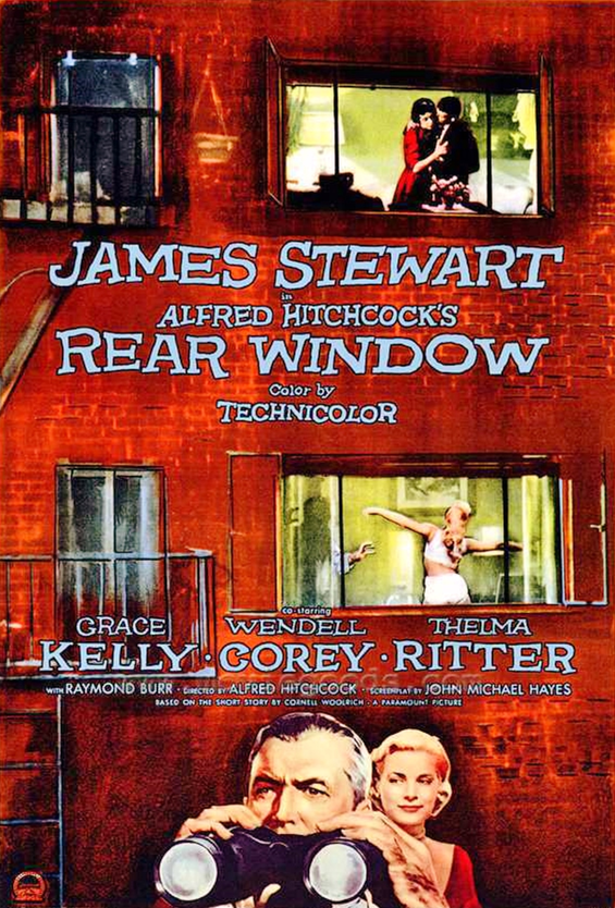 Rear window wikipedia for Grace kelly fenetre sur cour