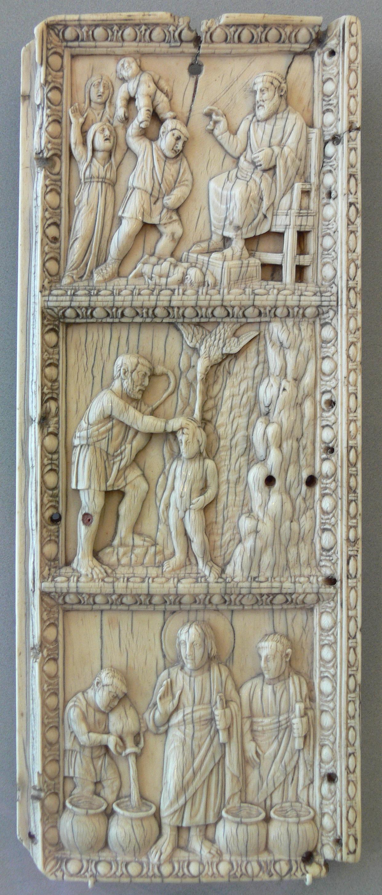 File Relieftafel Szenen Aus Dem Leben Christi Wikimedia Mons