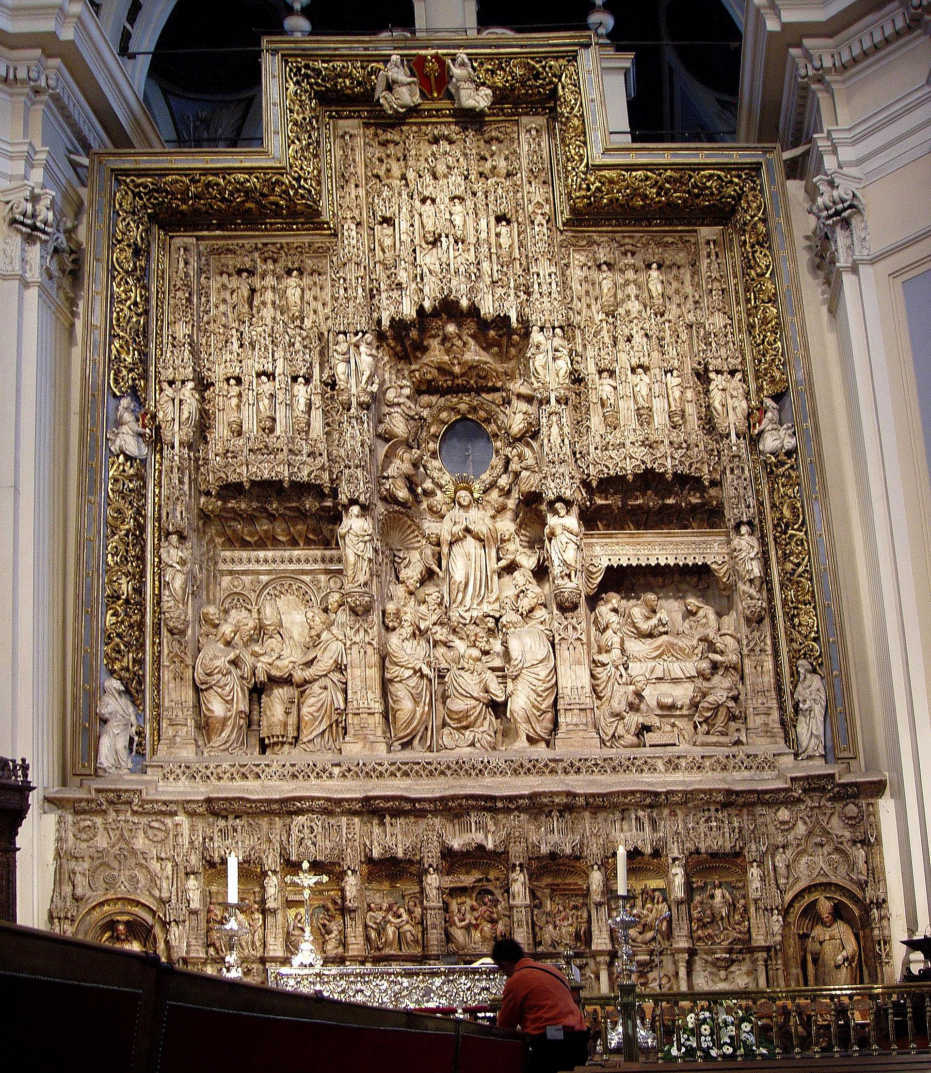 Retablo mayor de la Basílica de Nuestra Señora del Pilar, Zaragoza