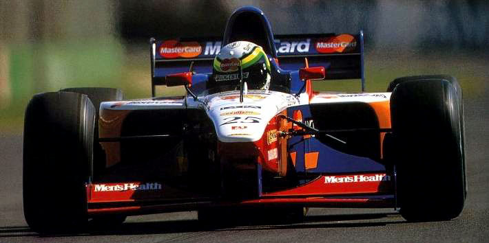 Ricardo Rosset at 1997 Australian Grand Prix