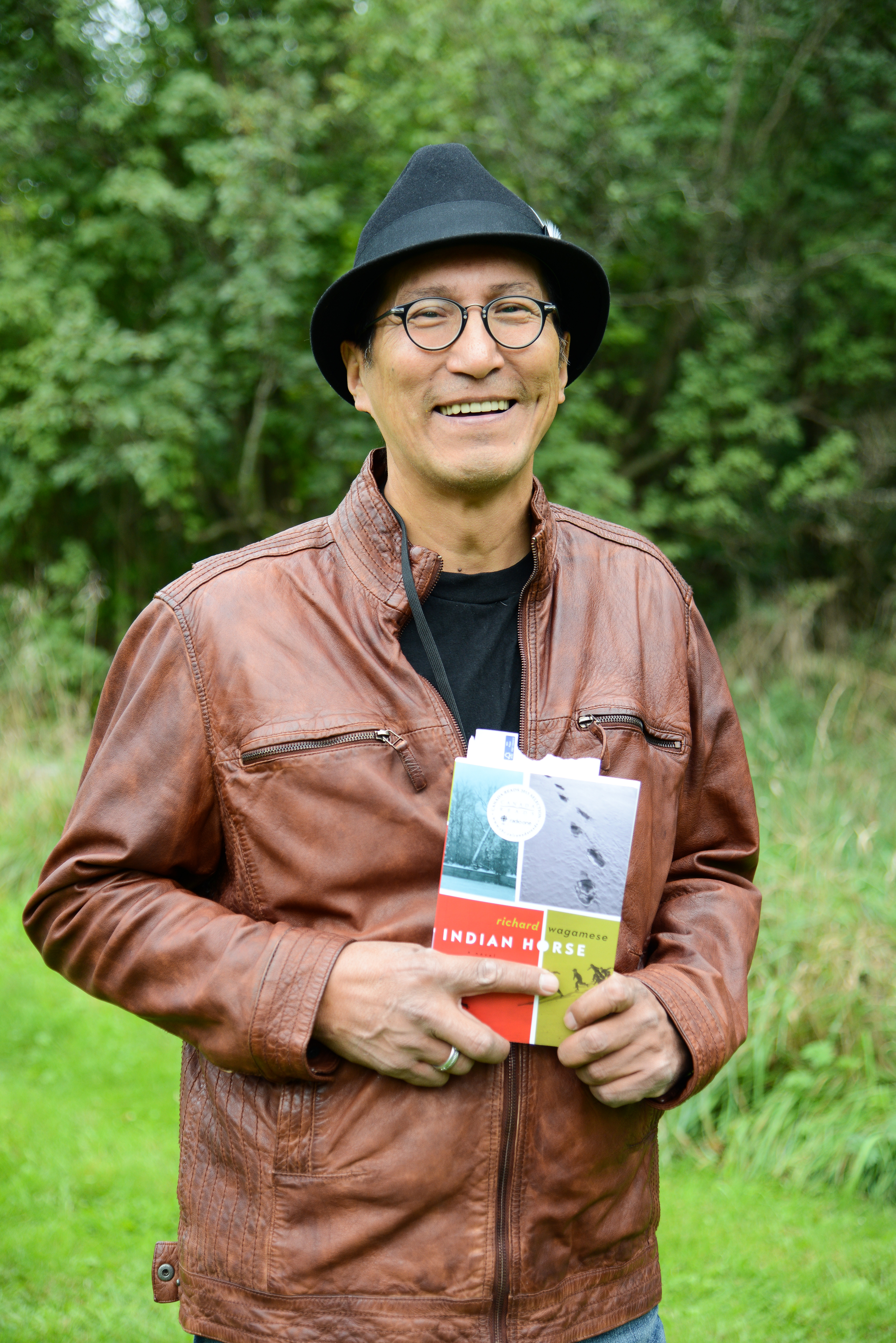 Wagamese at the [[Eden Mills Writers' Festival]] in 2013