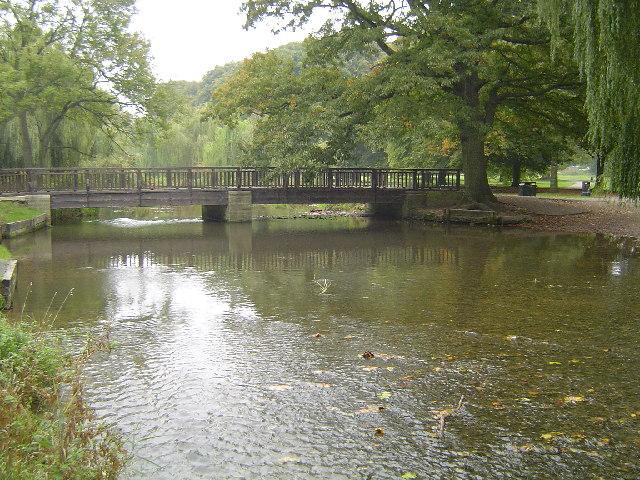 River Gade, Cassiobury Park, Watford - geograph.org.uk - 64128