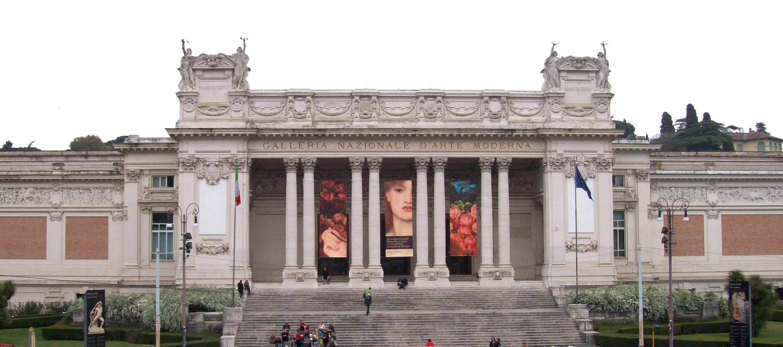 Quadri Moderni Roma Vendita galleria nazionale d'arte moderna e contemporanea - wikipedia