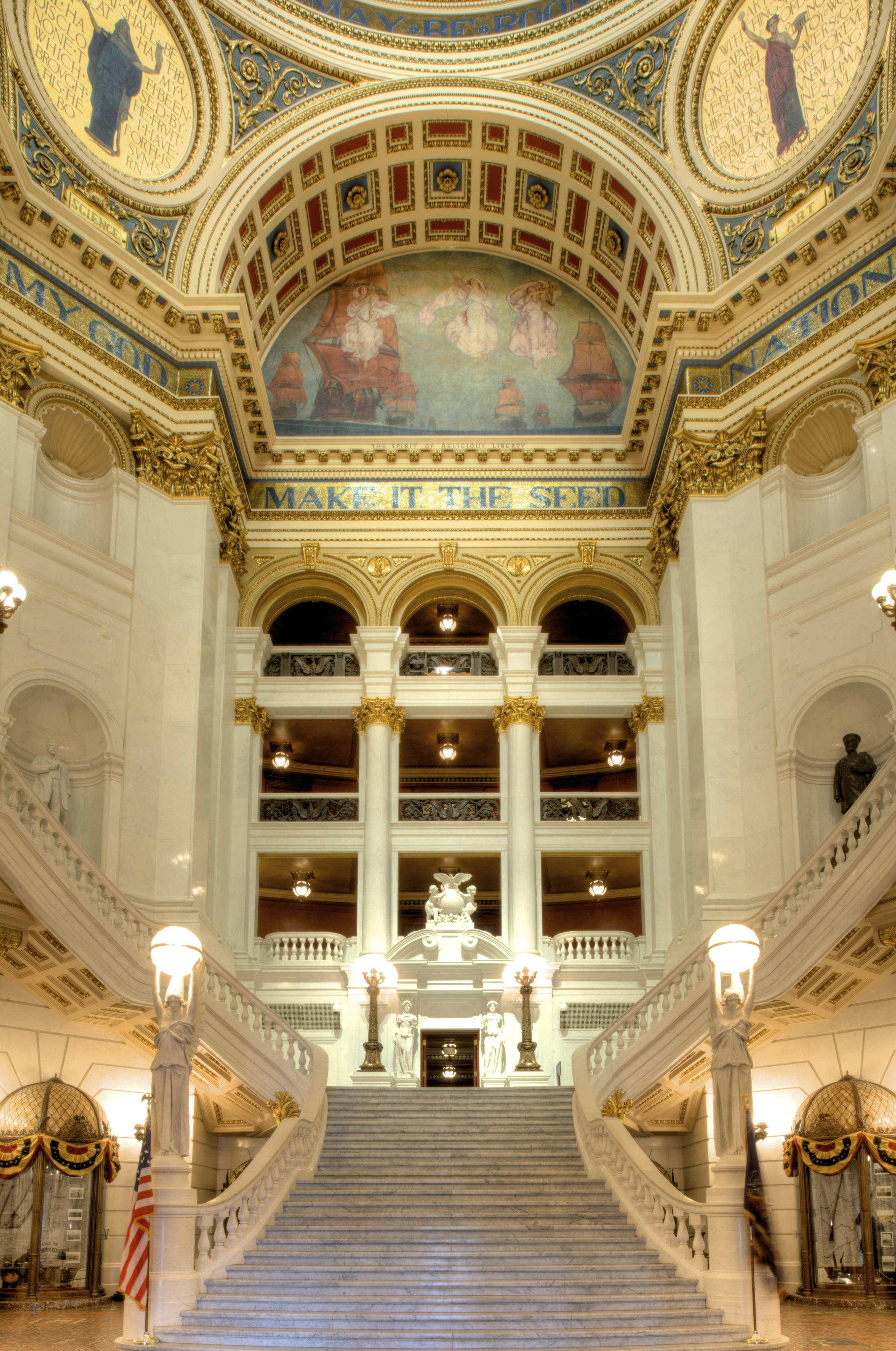 Pennsylvania State Capitol Building History