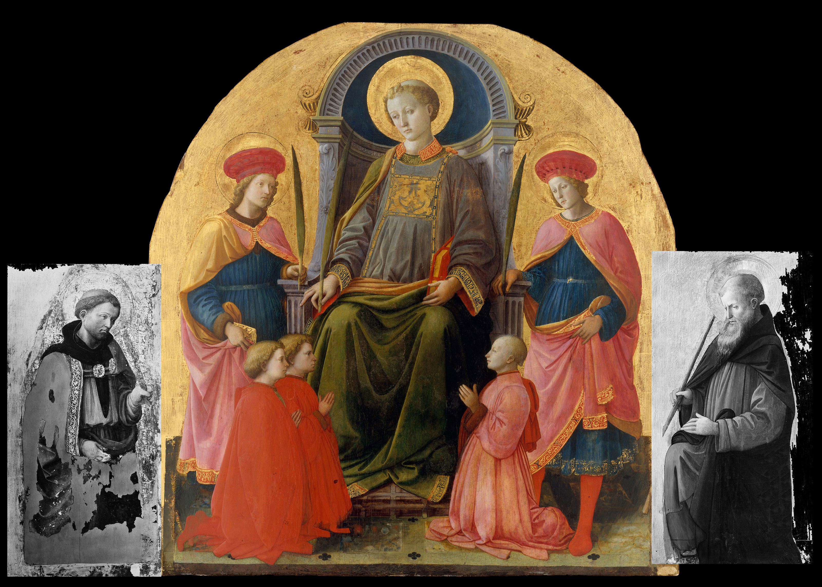 File:Saint Lawrence Enthroned with Saints and Donors MET Filippo Lippi  nocap.jpg