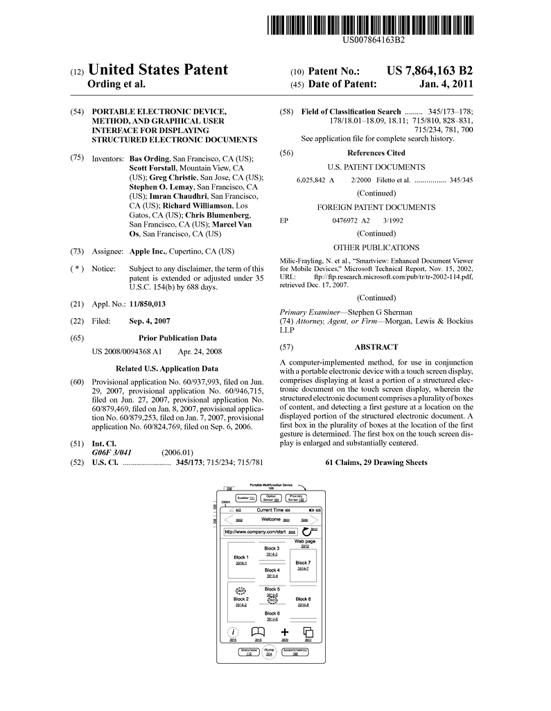 File sample patent to illustrate inid for Patent specification template