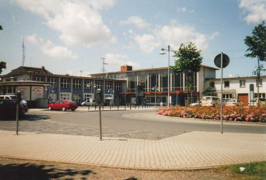 Bahnhof in Sangerhausen, Quelle wikipedia