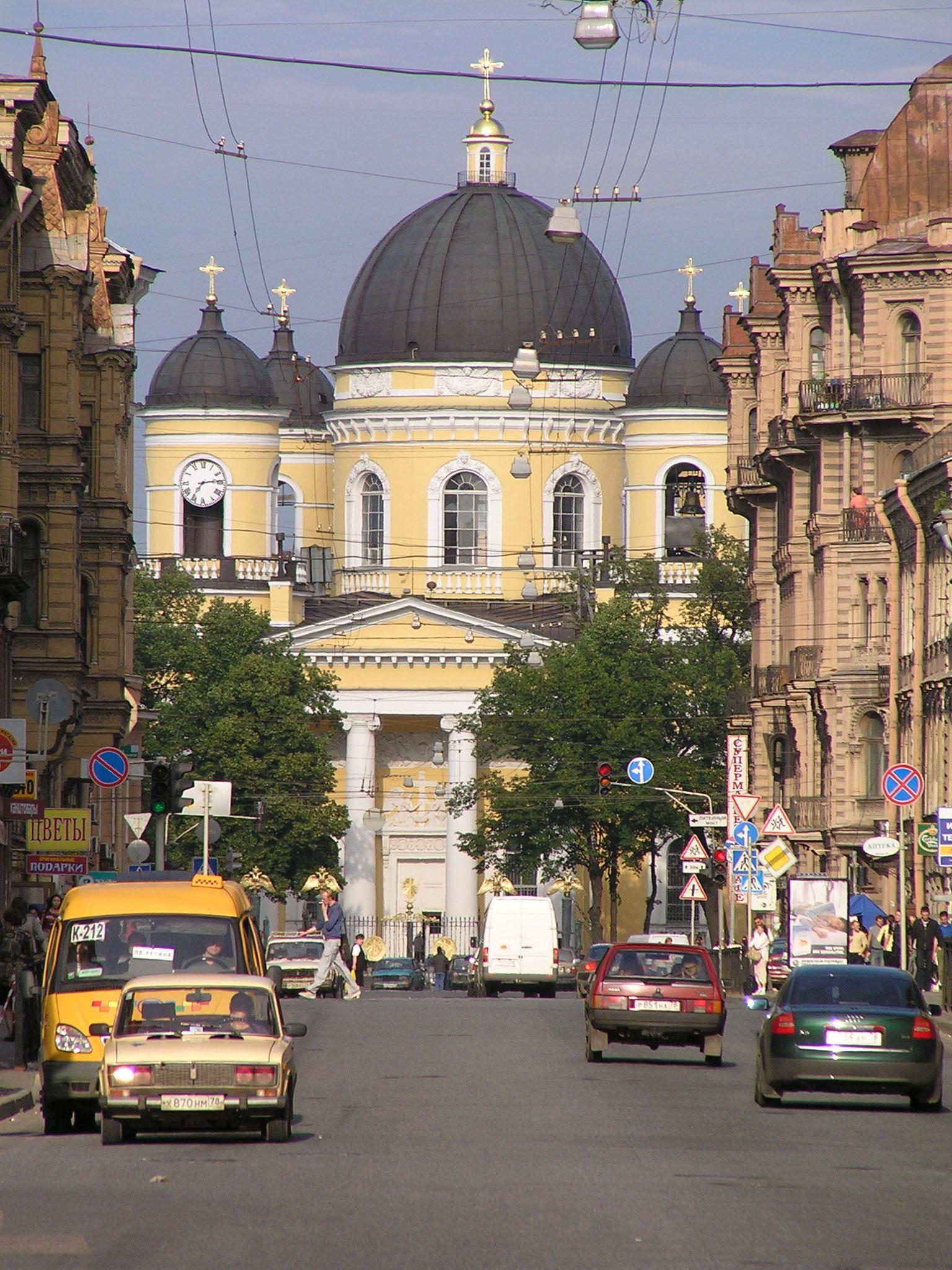 Sankt Petersburg Kirche