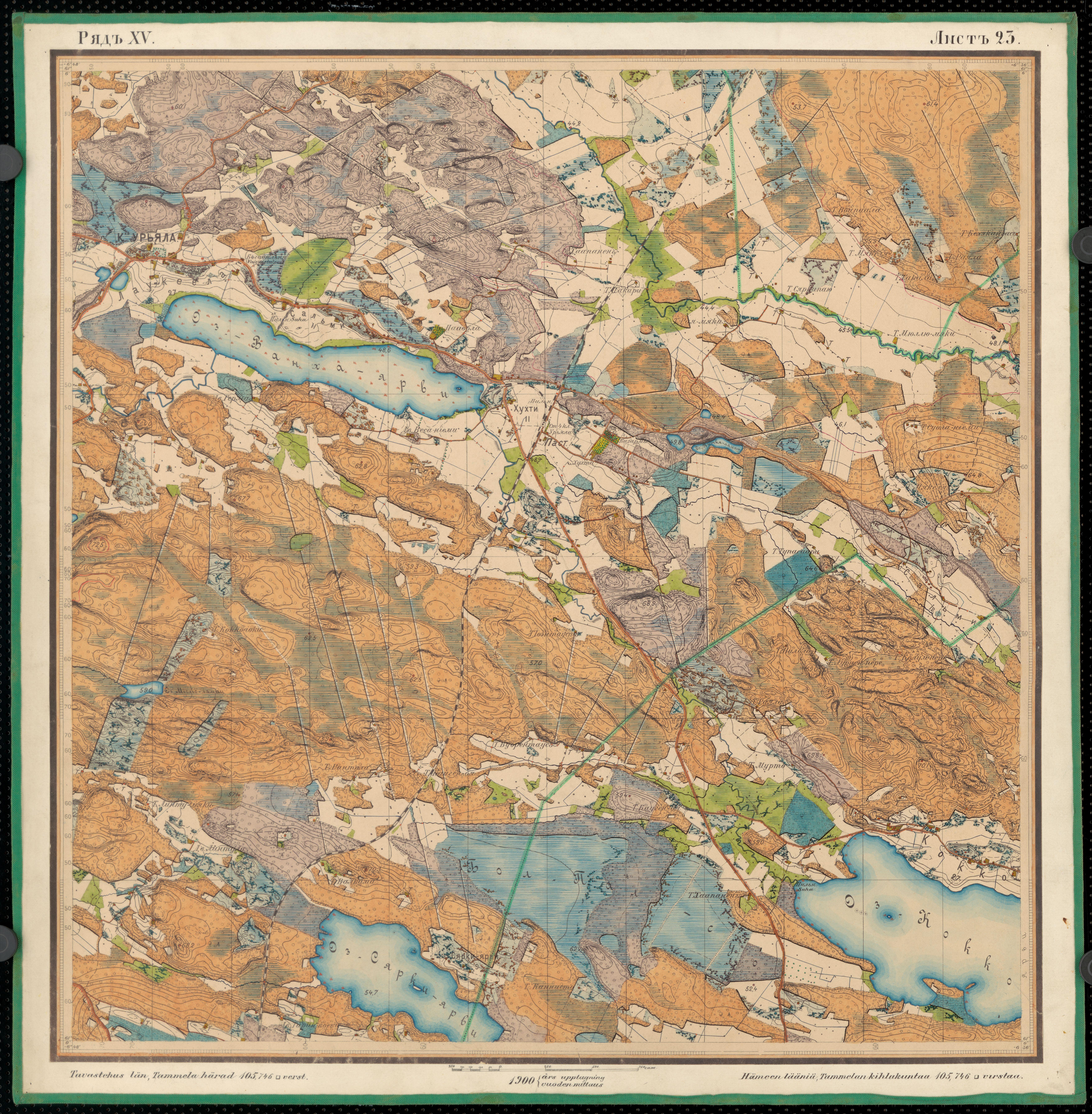 File Senate Atlas 1870 1907 Sheet Xv 23 Urjala Jpg Wikimedia
