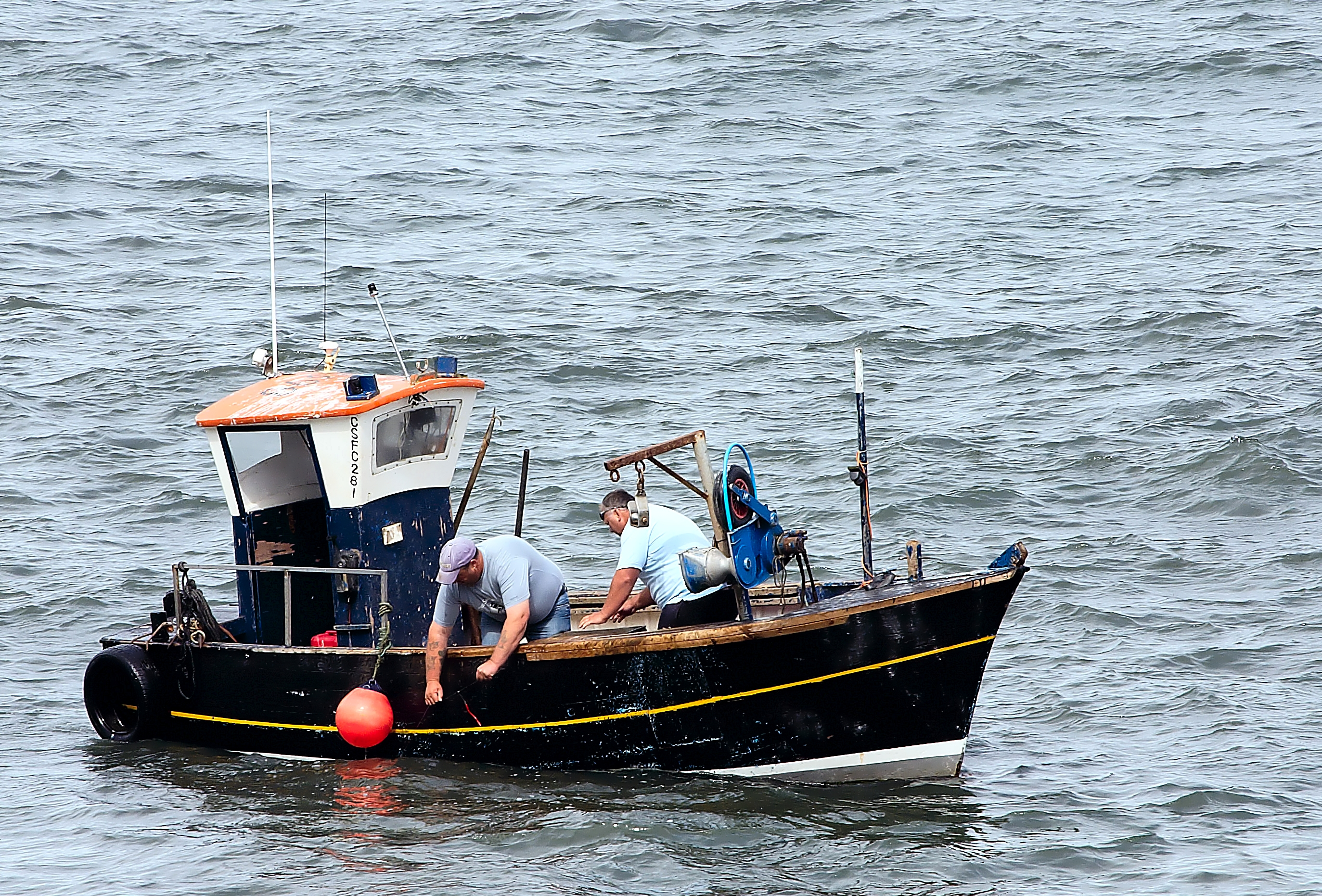 File small scarborough fishing wikimedia commons for Small used fishing boats for sale