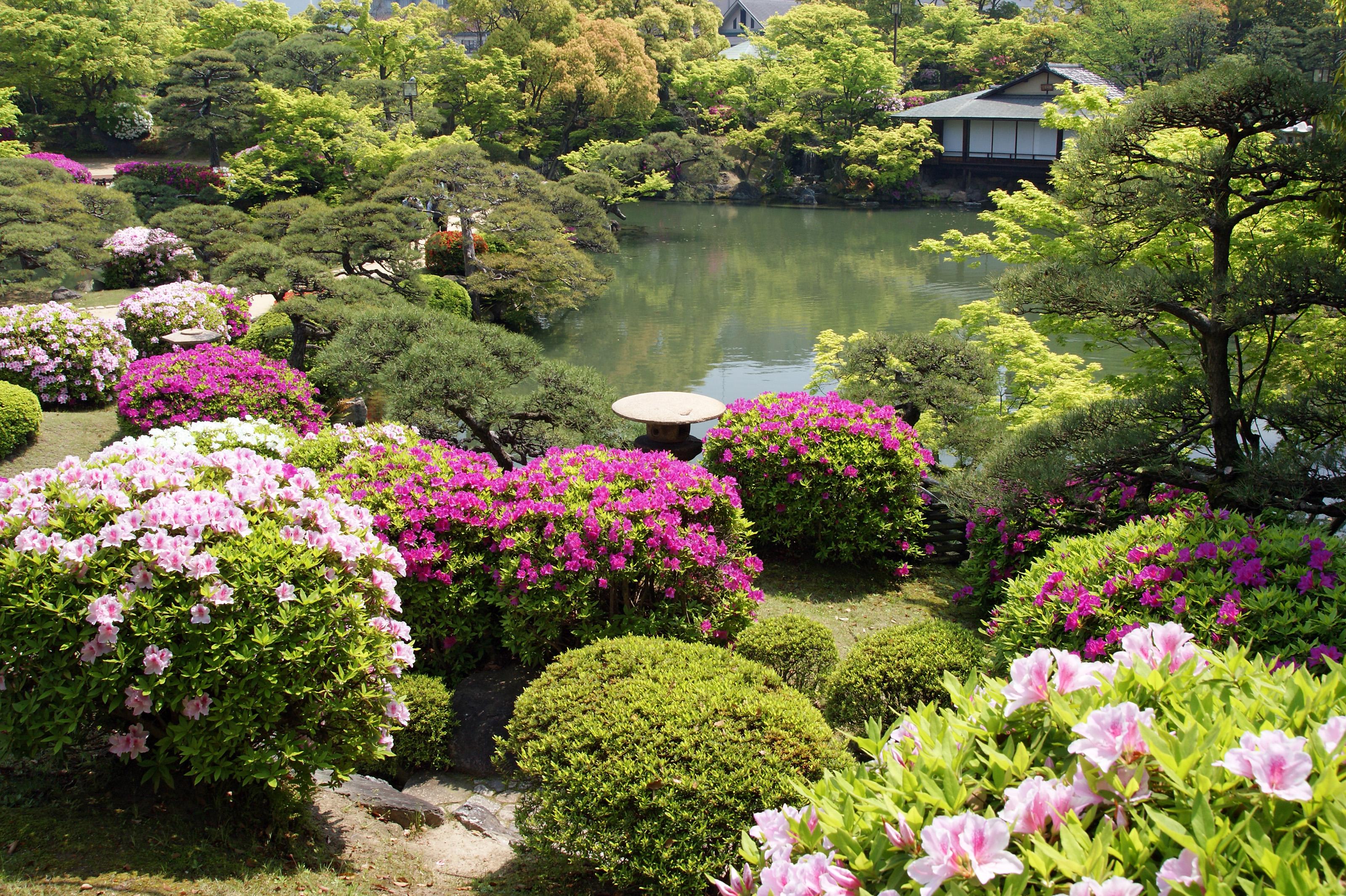 estilos de jardim japonês