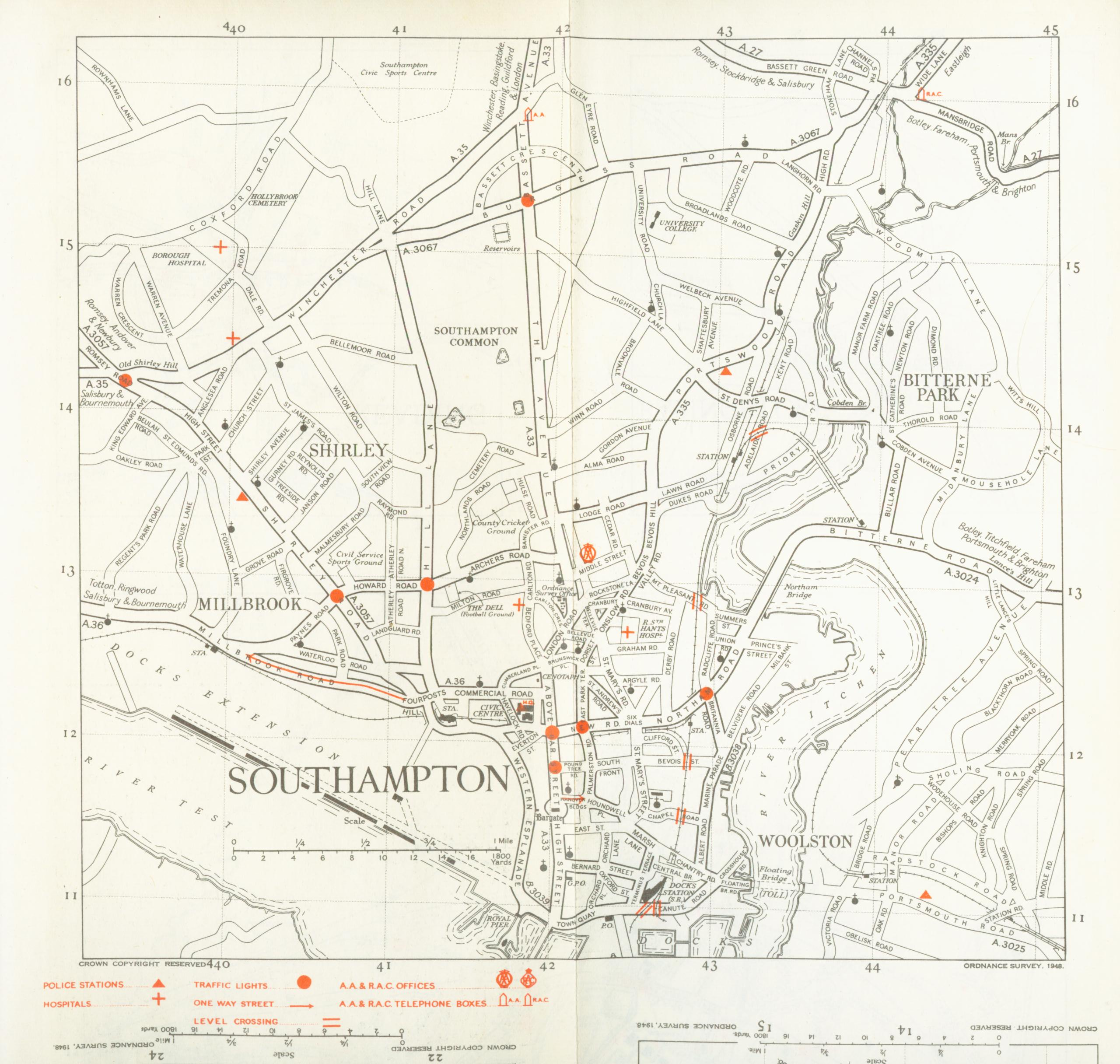 filesouthampton road map 1948jpg